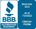 Accurate Plumbing Pros, Inc. is a BBB Accredited Plumber in McHenry, IL